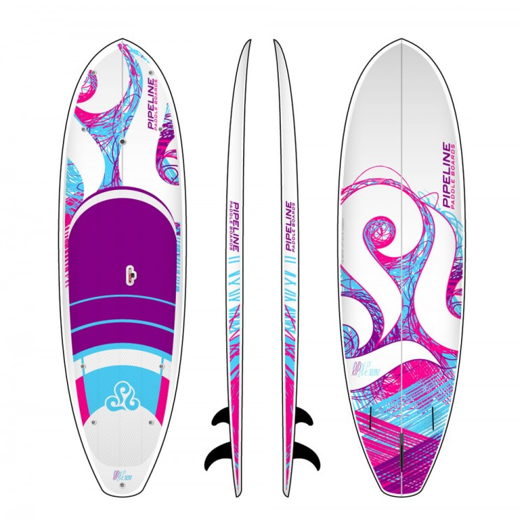 Ripple 10ZERO Pink 10  Women s Surf Stand Up Paddle Board 1367944bc